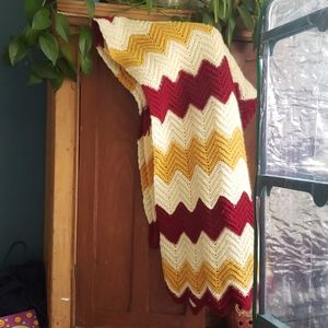 Home made Granny throw/blanket